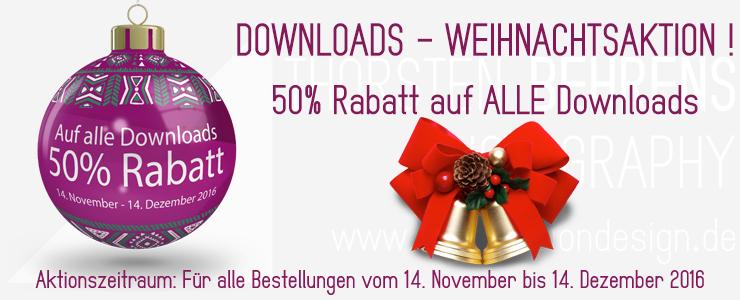 Das Thorsten Behrens Photography Weihnachts Angebot: 50% Rabatt auf ALLE Downloads!