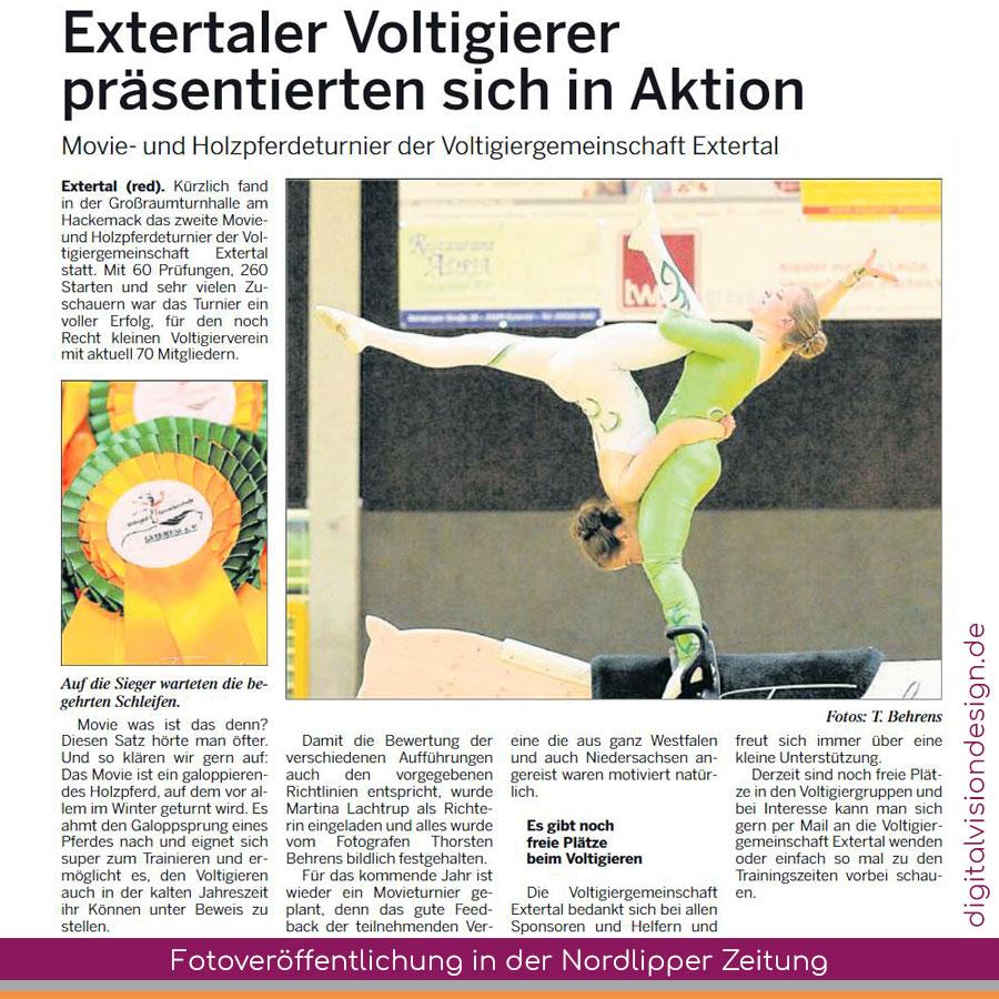 ++ Fotoveröffentlichung (Thorsten Behrens Photography) in der Nordlipper Zeitung ++