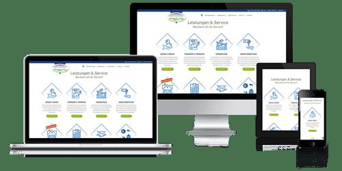 Webprojekte der Agentur DigitalVisionDesign werden mit dem Content-Management-System (CMS) WordPress erstellt. Das Webdesign ist zu 100% responsive, passt sich dem jeweiligen Ausgabegerät (Device) und der Displaygröße von Smartphone, Tablet und Desktop optimal an.