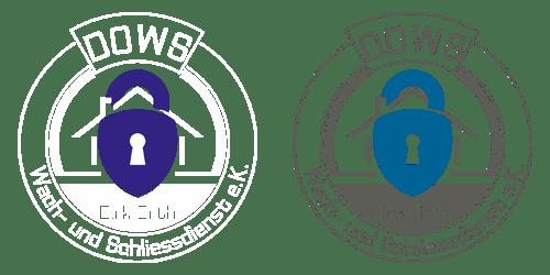 Reinzeichnung des DOWS Logos in verschiedenen Farbgebungen (Finale Version Abb. rechts)