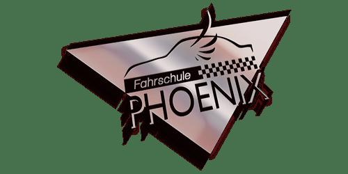 3D Mockup vom Logo der Fahrschule PHOENIX, erstellt von DigitalVisionDesign - Agentur für visuelle Kommunikation