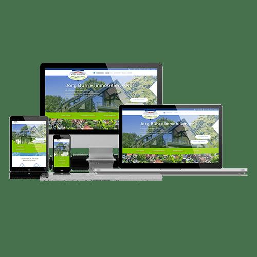 - Sehen Sie weitere Webdesignprojekte im Portfolio -