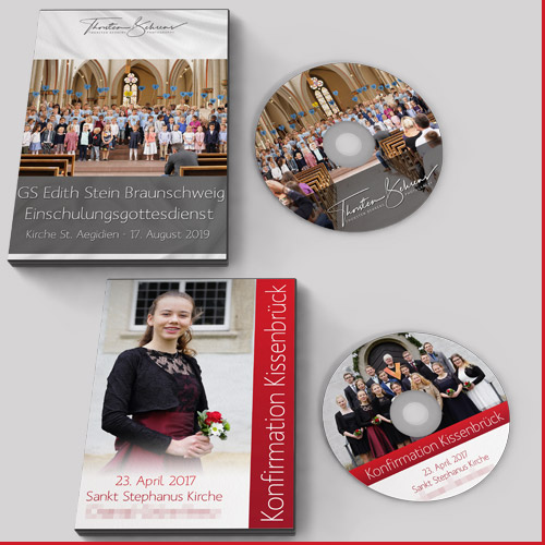 Einschulung, Konfirmation, Hochzeit oder Turnierfotografie: Meine Agentur bietet Full-Service von der Fotografie bis zur Verpackung