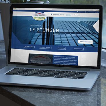 CMS Website (Webdesign) - Klick für Projektdetails